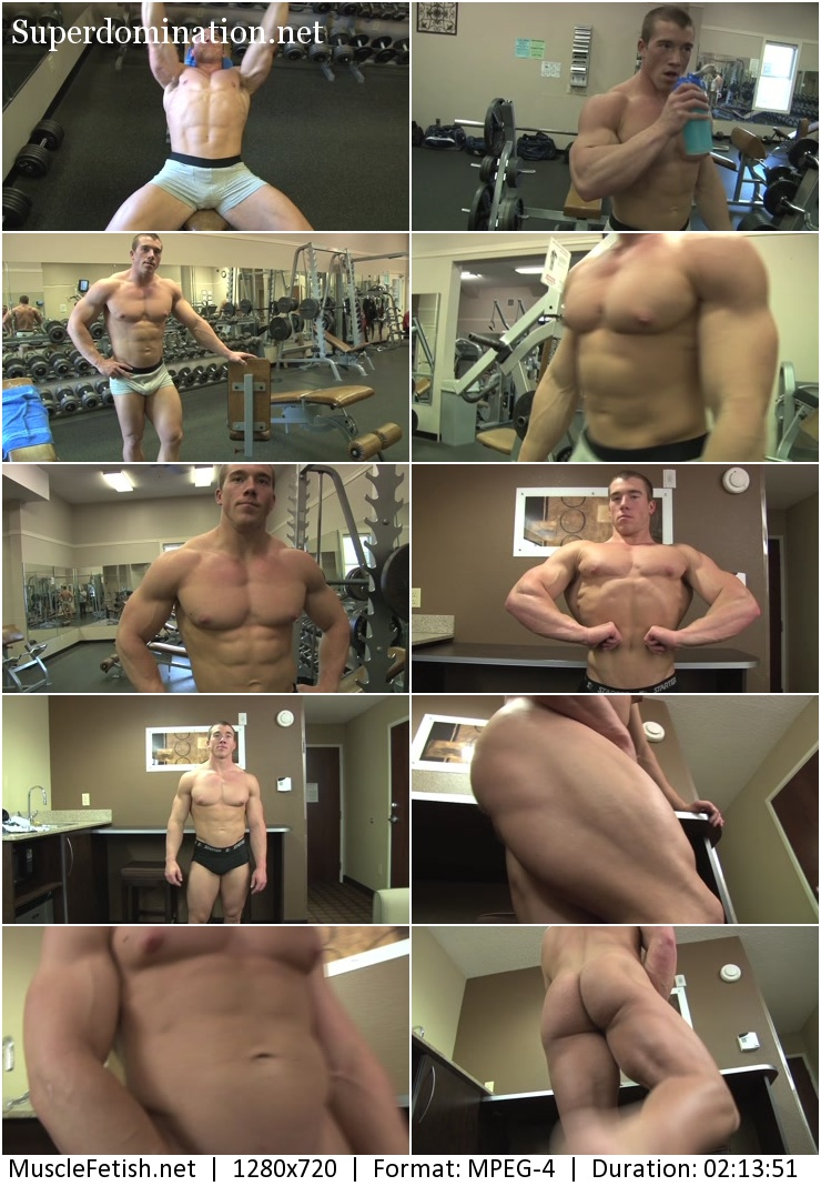 Bodybuilder from Vimeo - Brandon B Photo Shoot 3