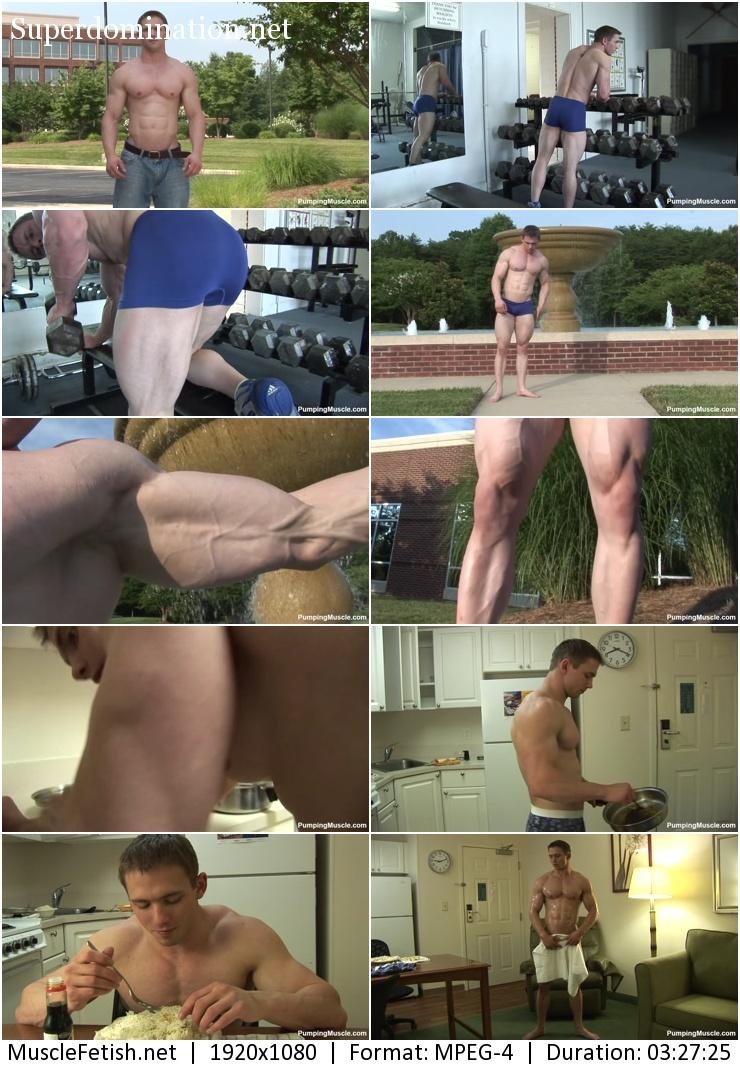 Bodybuilder from Vimeo - Matthew M Photo Shoot Part 1 (2017)