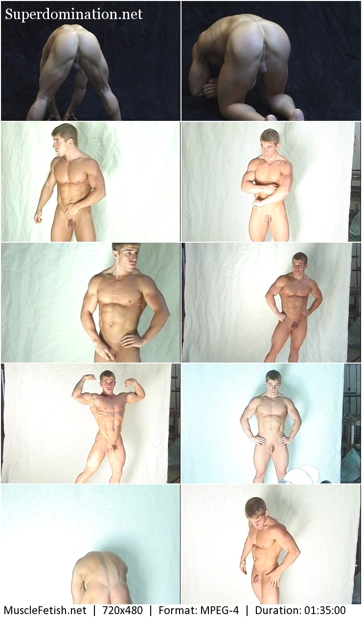 Bodybuilder from Vimeo - Victor D Photo Shoot 2