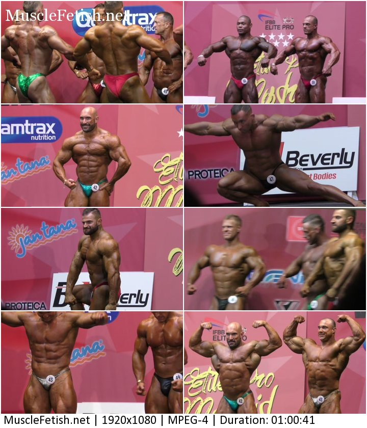 Bodybuilding show Madrid 2019