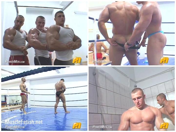 Boxing bodybuilders from Power Men