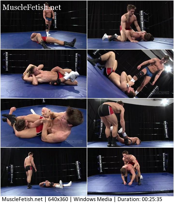Brodie Fisher vs Alex Waters - Hard Male Wrestling (no sex)