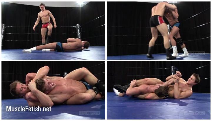 Brodie Fisher vs Alex Waters - Hard Male Wrestling