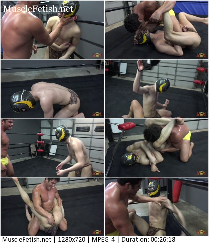 Bruno vs. Cheetah Boy - male wrestling (UCW) part 723