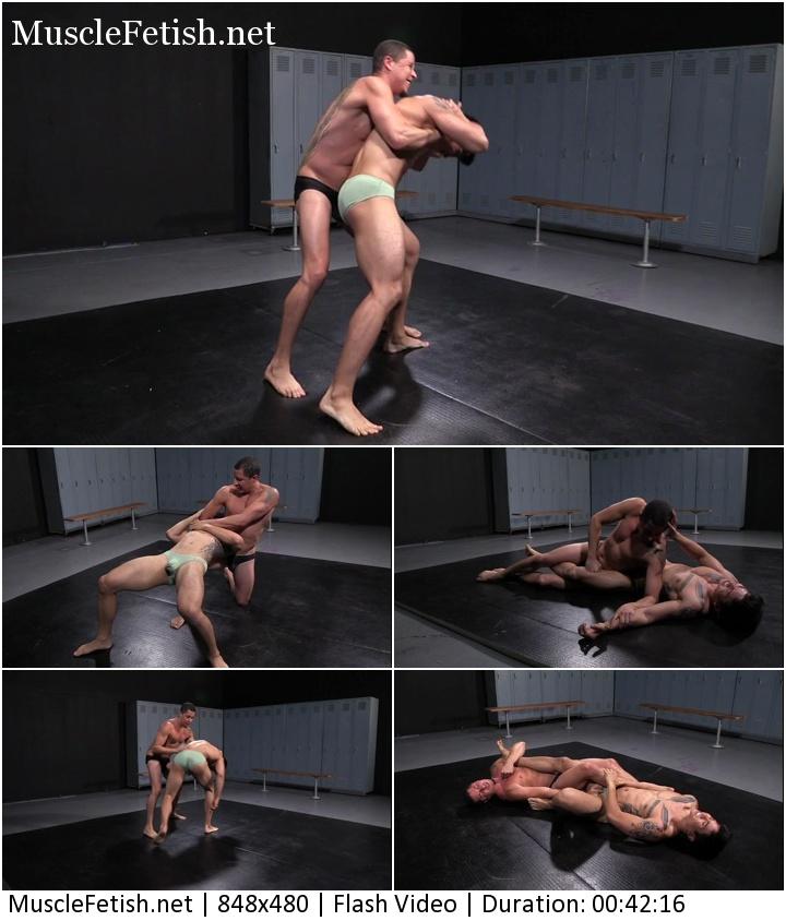 Can-Am video - Erotic Mat Wresling Part 1