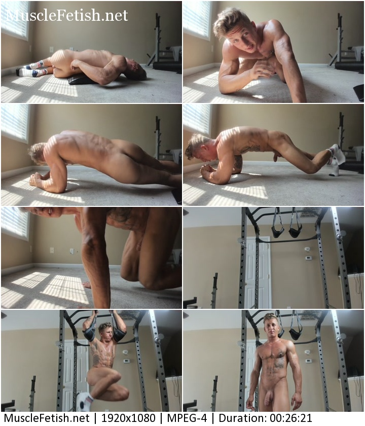 Chaturbate video - nude muscle boy Julian Jaxon