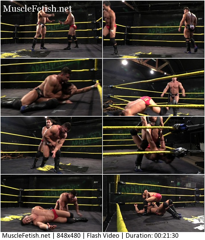 Cyberfights wrestling video - Brian Cage vs Chasyn Rance part 1