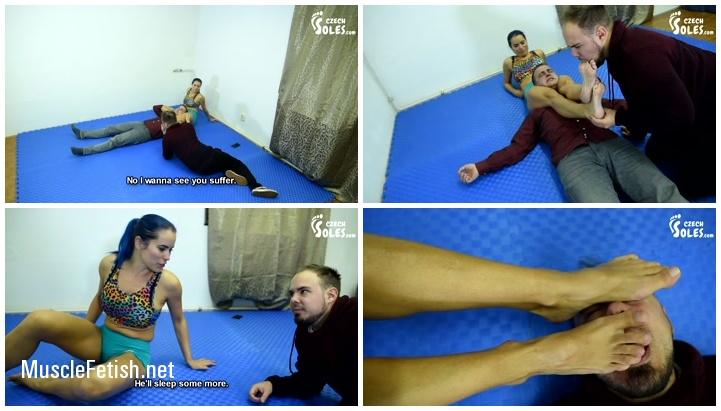 Czech Soles - Blue Kate vs Jack - Wrestling Domination