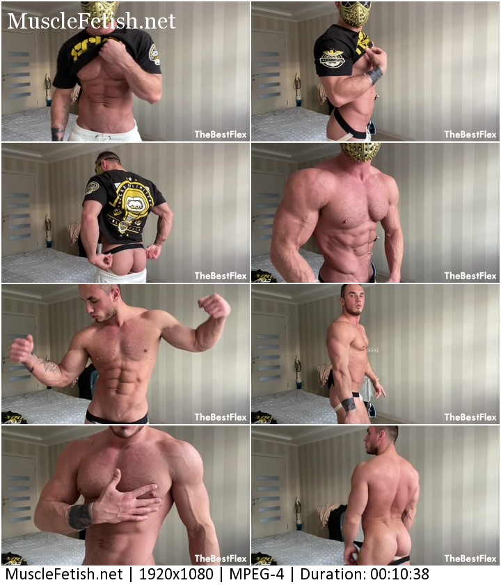 Daniel Fit - Masked Muscle Man Revealed from TheBestFlex