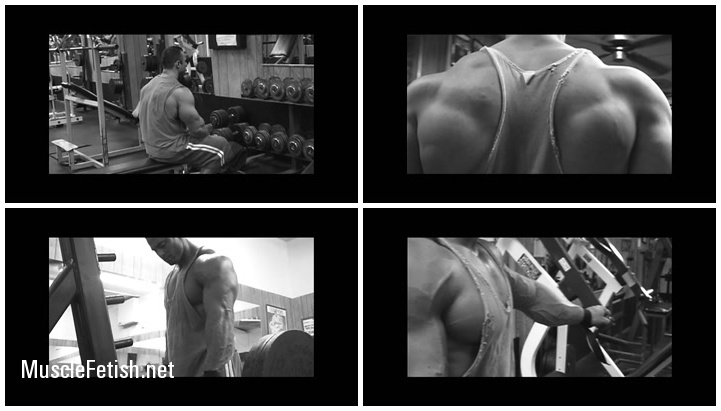 Delts with Bodybuilder Frank McGrath - collection of the Animal Pak Part 3 - series of workout videos