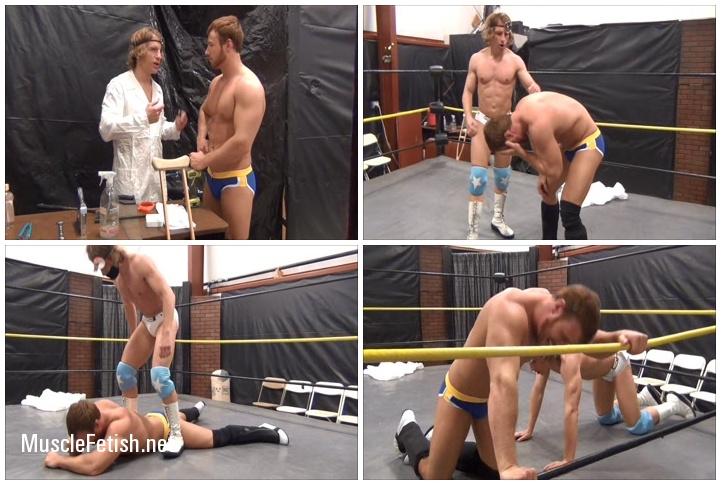 Dr. Lon DuMont vs. Austin Cooper - Hard Male Wrestling