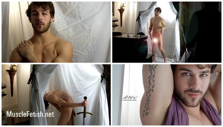 Erotic Male Photoshoot for Bacchus Stuart from Quinn Christopher Jaxon