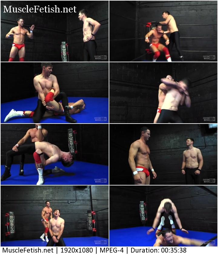 Ethan Andrew vs Dash Decker - sexy wrestlers 2021