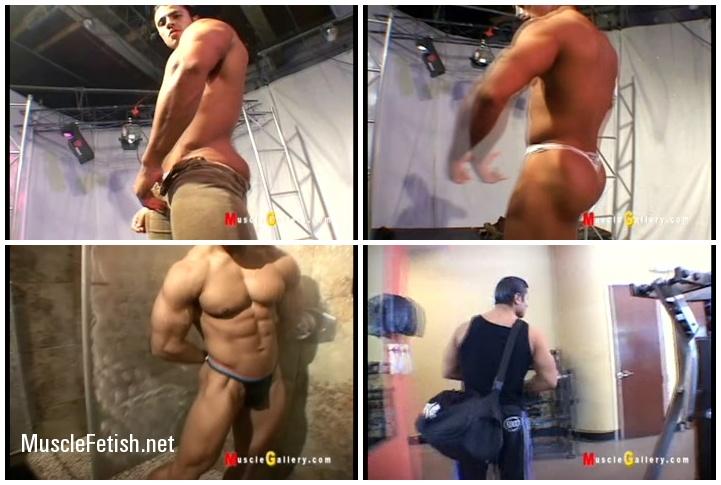 Exhibitionism Of Straight Bodybuilders