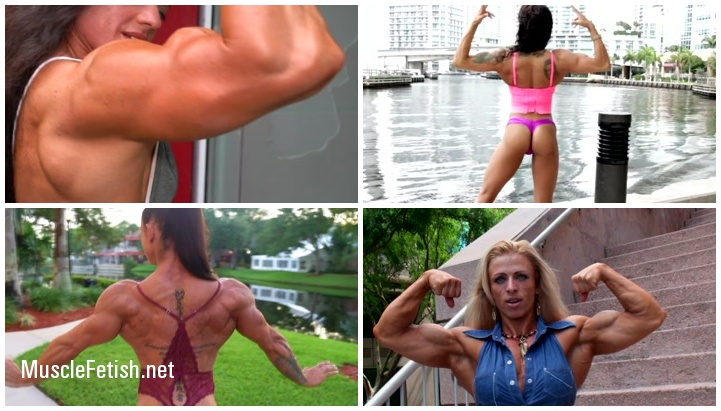 Female Muscle - Edging Challenge Series