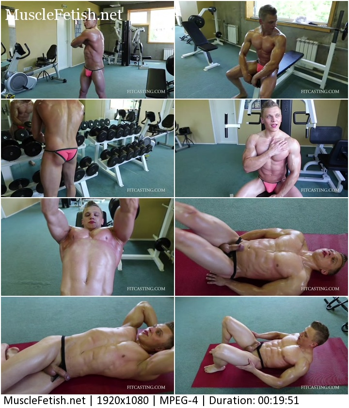 FirstCasting video - Fitness Model Andy (HD)