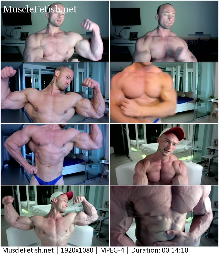 Flex4Me video - bodybuilder Alvis - super vascular body