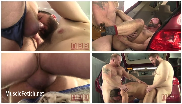 Gay Bears Orgy featuring Barrett James, Topher Phoenix and Graydon Emory Ford