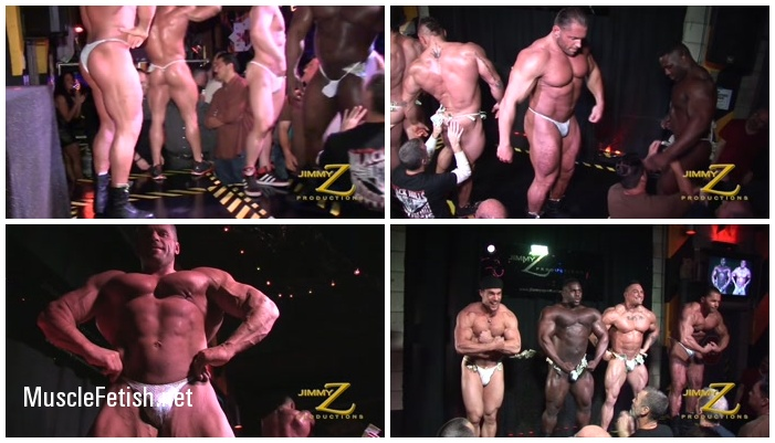 Gay Strip Club - Massive Muscle Show Finale - Backstage At Bodybuilders