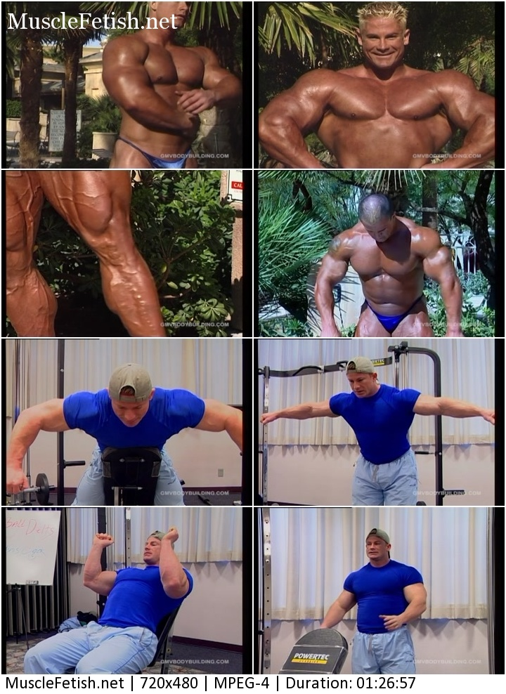 Gmvbodybuilding Video - Muscle Models: Chris Cook and Chris Bennett