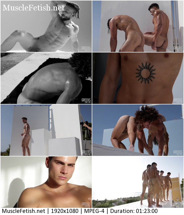 Greeks Come True Calendar shoot for 2021 (male erotic uncensored)