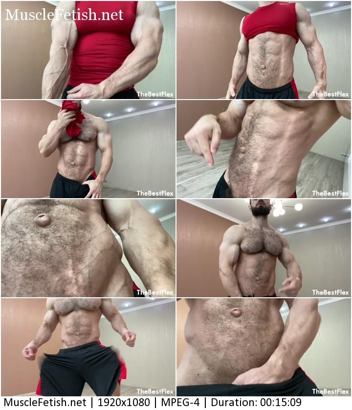 Hairy muscle model Jeff B - weak sub wants my body