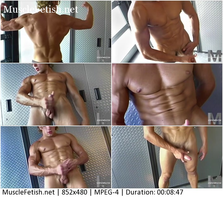 Handsome bodybuilder Athan Seville photoshoot part 4