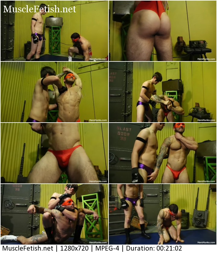 Hero Hunks Wrestling - Mental mind vs Crimson Fury - Chace LaChance and Ethan Andrews