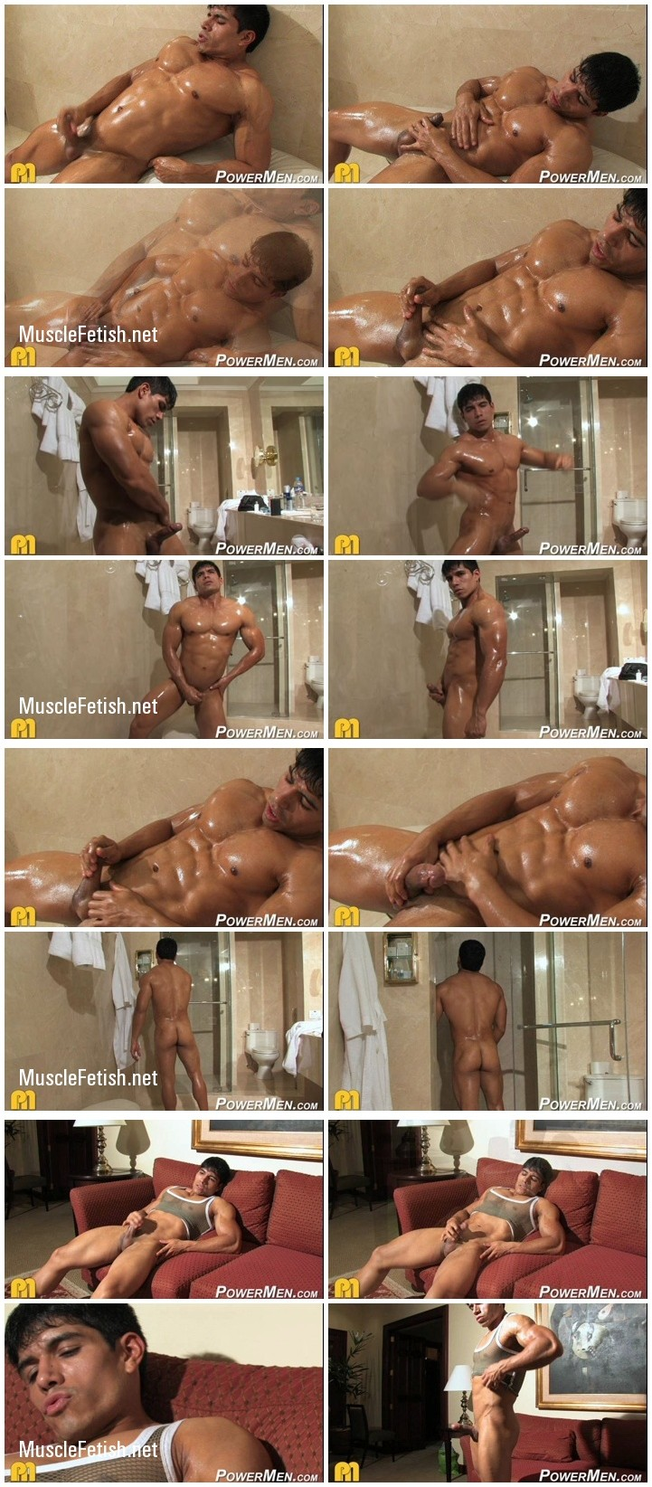 Hot Bodybuilder Tommy Rockets Photoshoot Solo Collection