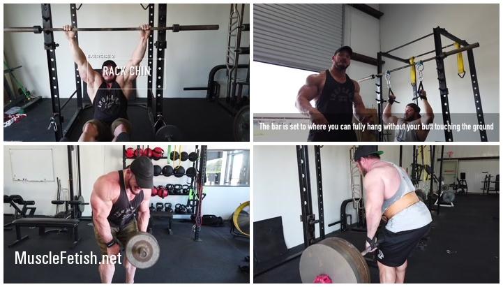 Hot Bodybuilders Hunter Labrada and Bryan Troianello