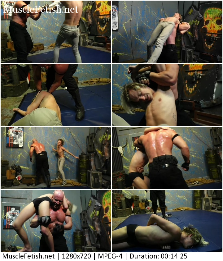 Hot Male Wrestling from Hero Hunks: Beefy Brute Vengeance vs Punk Citizen