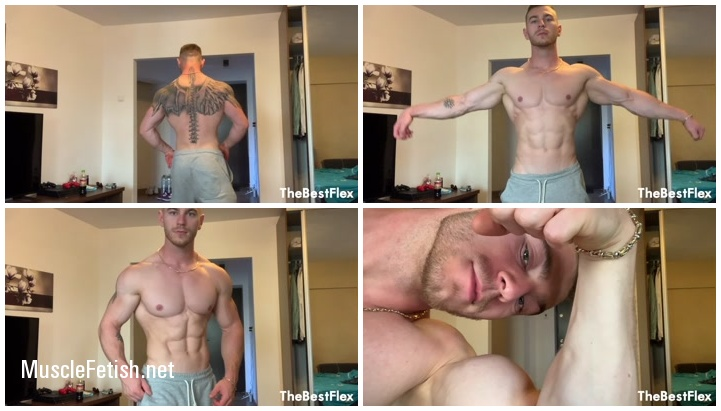 Hot muscle body - Male Posing from TheBestFlex