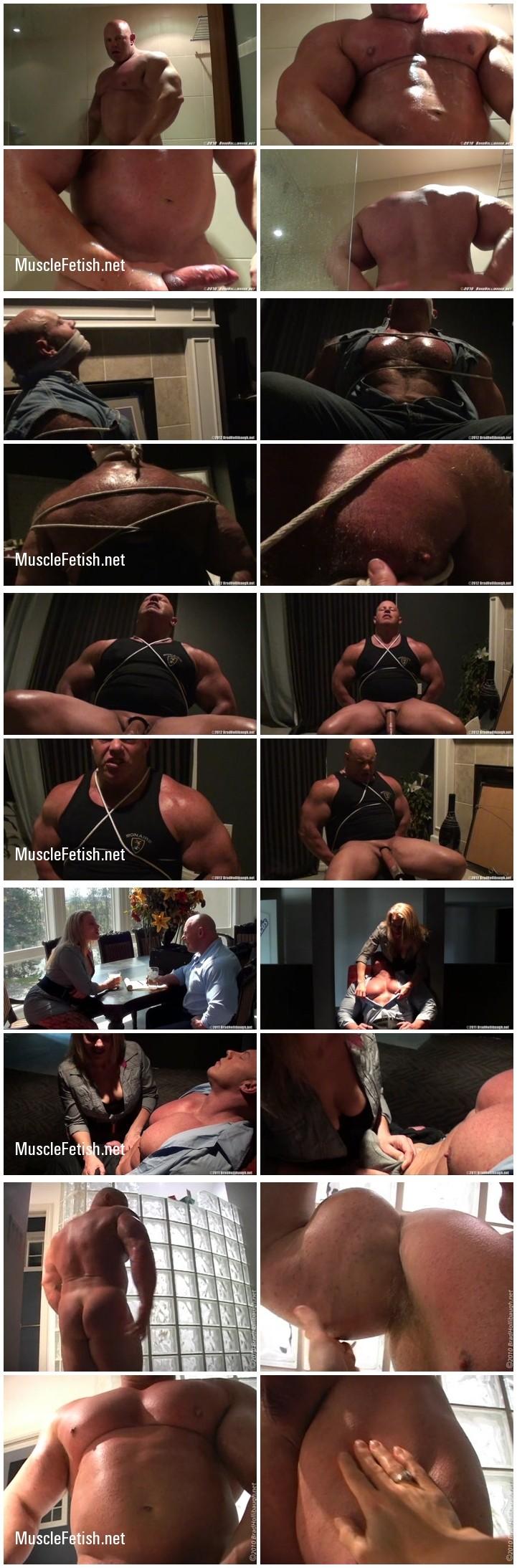 Huge Bodybuilder Brad Hollibaugh - 7 videos