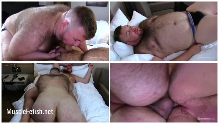 Hunter Scott and Jake Clover - Gay Bears from MonsterCub