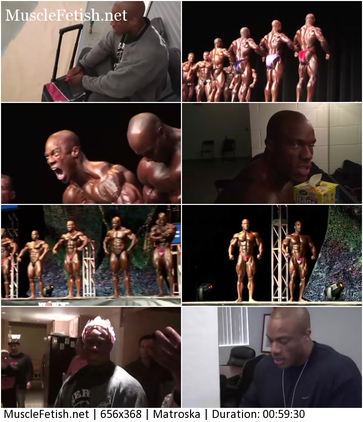 IFBB Pro Bodybuilder Phil Heath and photo shoot with Kevin Horton (2 DVD set)