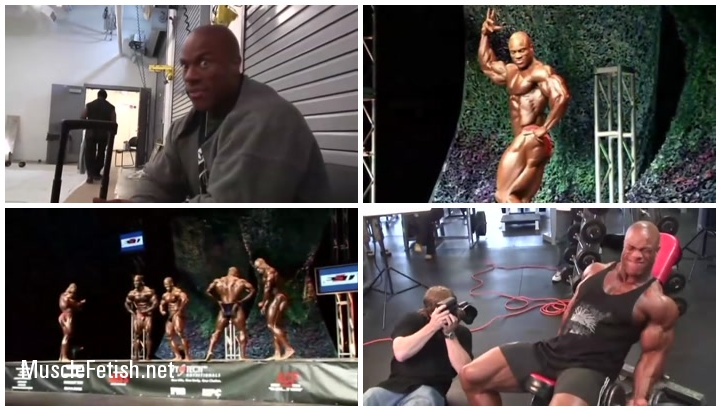 IFBB Pro Bodybuilder Phil Heath and photo shoot with Kevin Horton