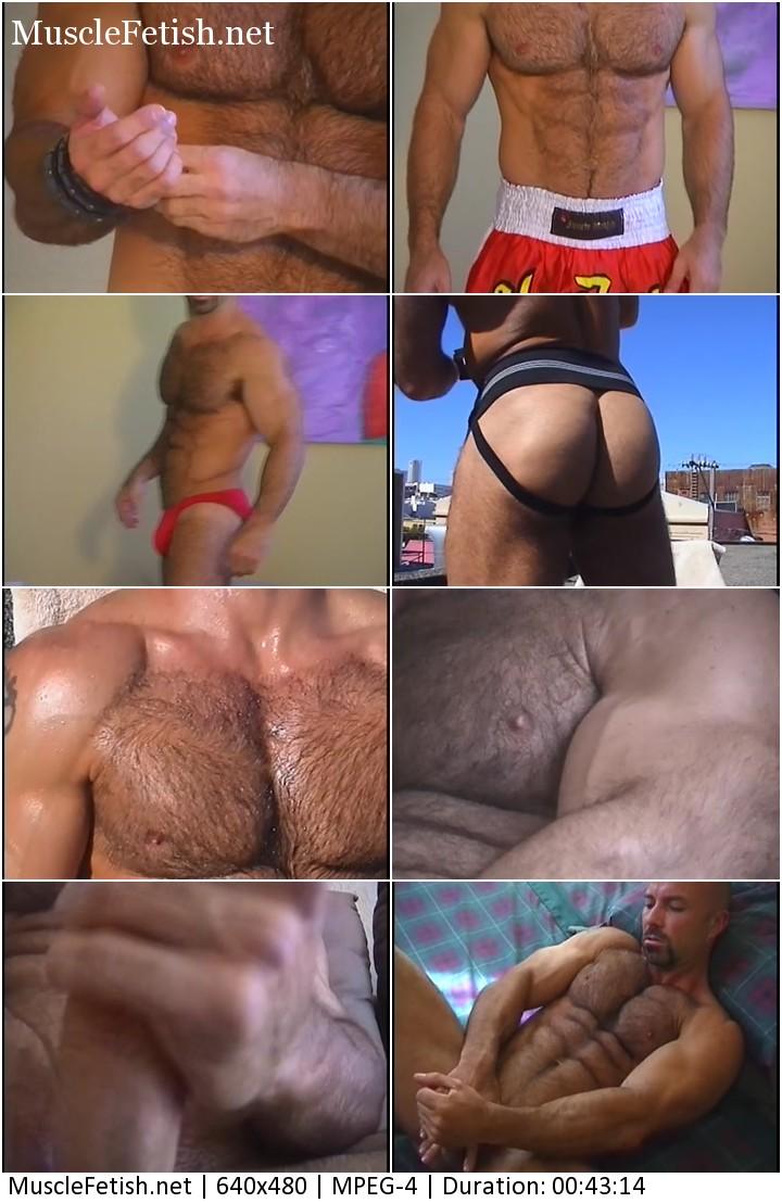 Jake Stockman - hairy muscle stud