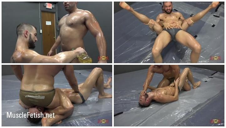 Jax Atwell Vs Nero Angelo - Oil Wrestling Gay Match