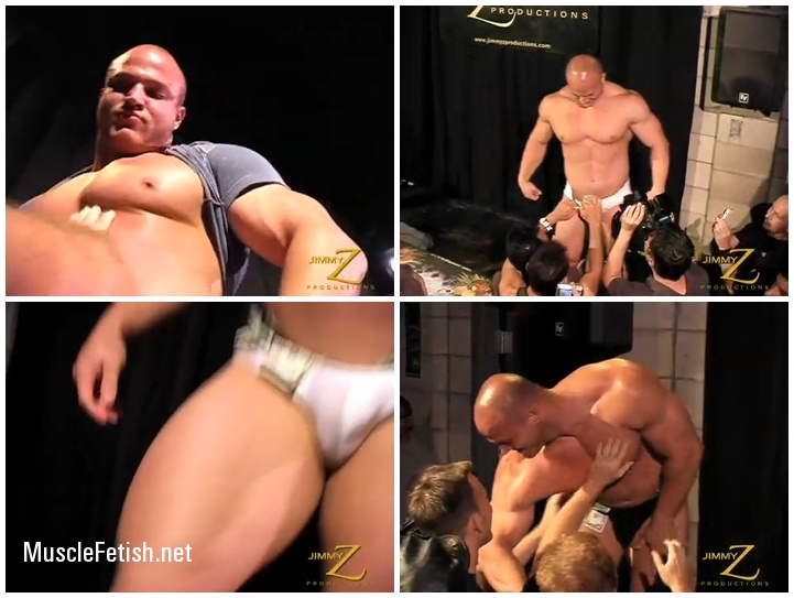 JimmyZ - male striptease from Kyle Stevens