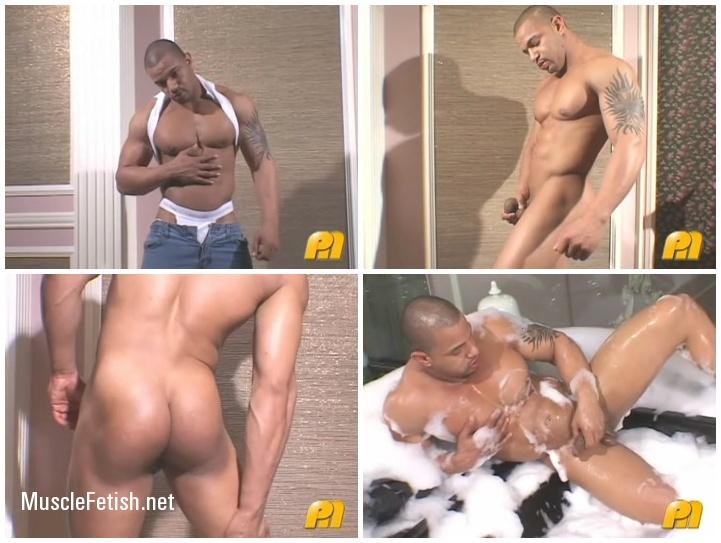 Latin muscle model Javier Menendez - Erotic Male Solo