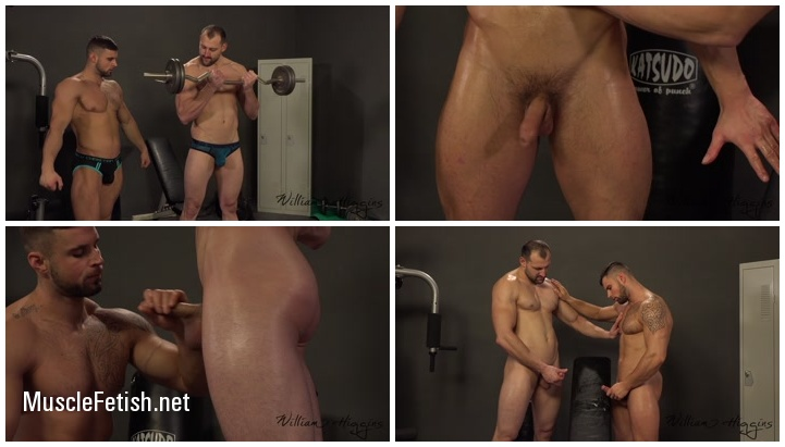 Leo Lombar and Pavel Sora - sexy workout of muscular gays
