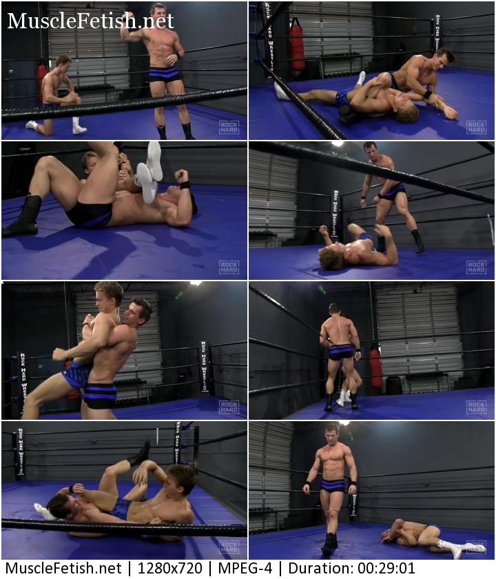 Male Hard Wrestling - Bruce Ballard vs Tanner Hill