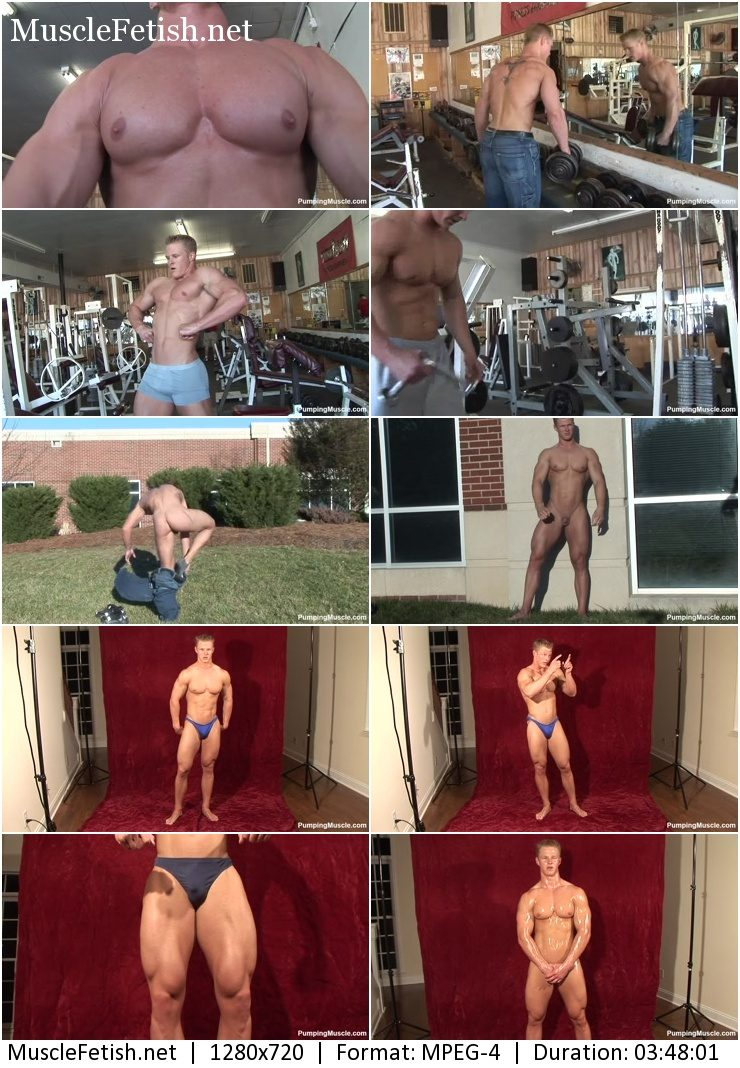 Male Model from PumpingMuscle - KEVIN Schnittker PHOTOSHOOT 1 (2015)