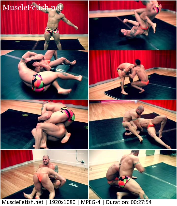 Male Wrestling Video - Dave Markus vs Dario Espinosa
