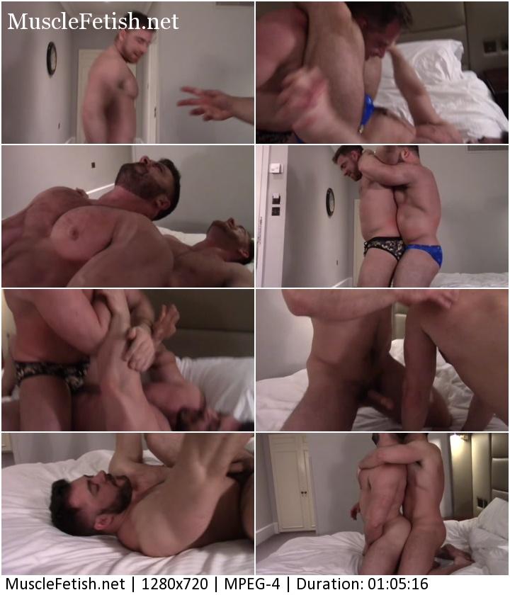 Male wrestling video - Derek Bolt Vs Jonas Jackson