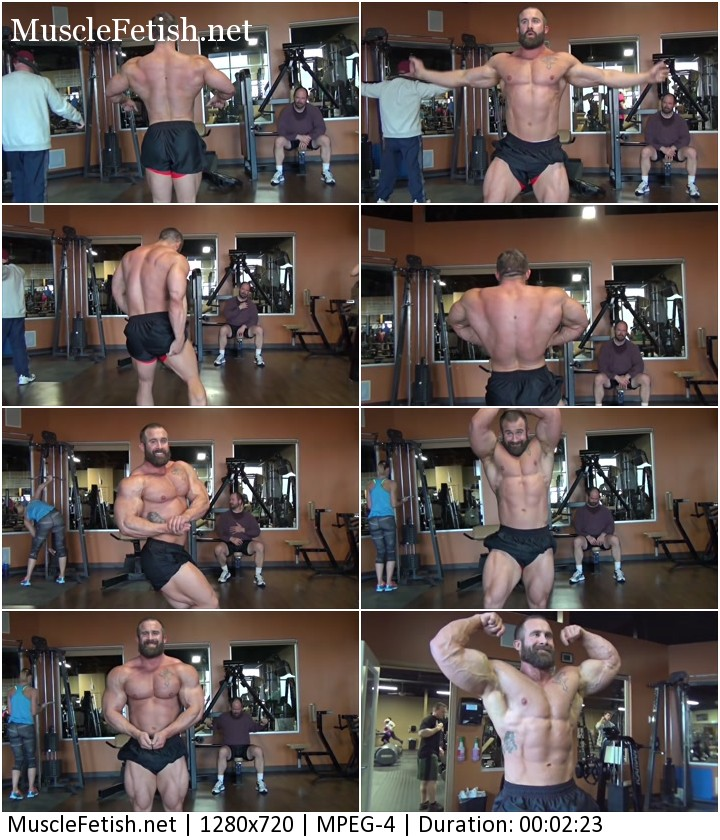 Marine Bodybuilder Nick Rose - photo shoot Part 1