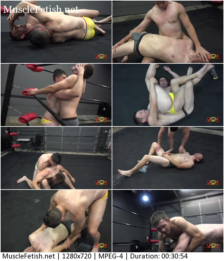 Max Ryder vs Champion Ethan Axel Andrews - male wrestling