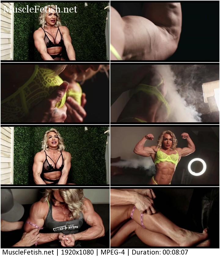 Meet female bodybuilder Fierce Fit Steph from HerBiceps