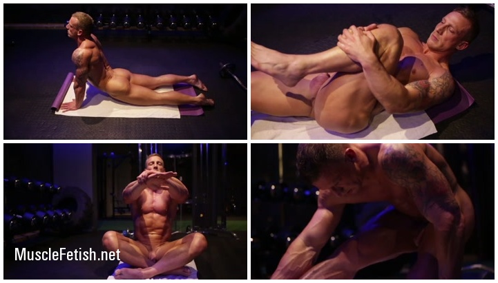 Mens yoga from Luke Hardy