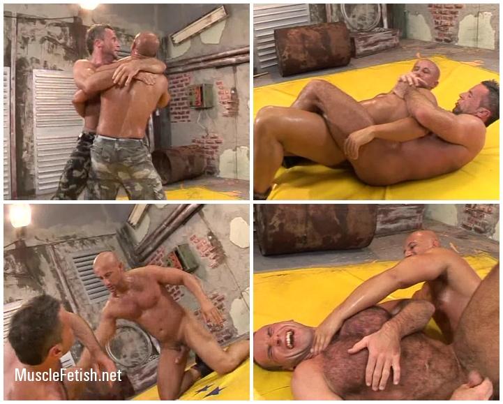 Military Wrestling - Newcomer Greg Wilson Vs Nico Blade